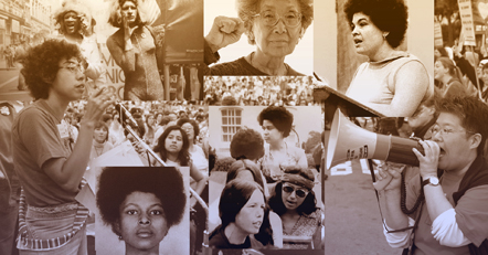 Collage of revolutionary women of color